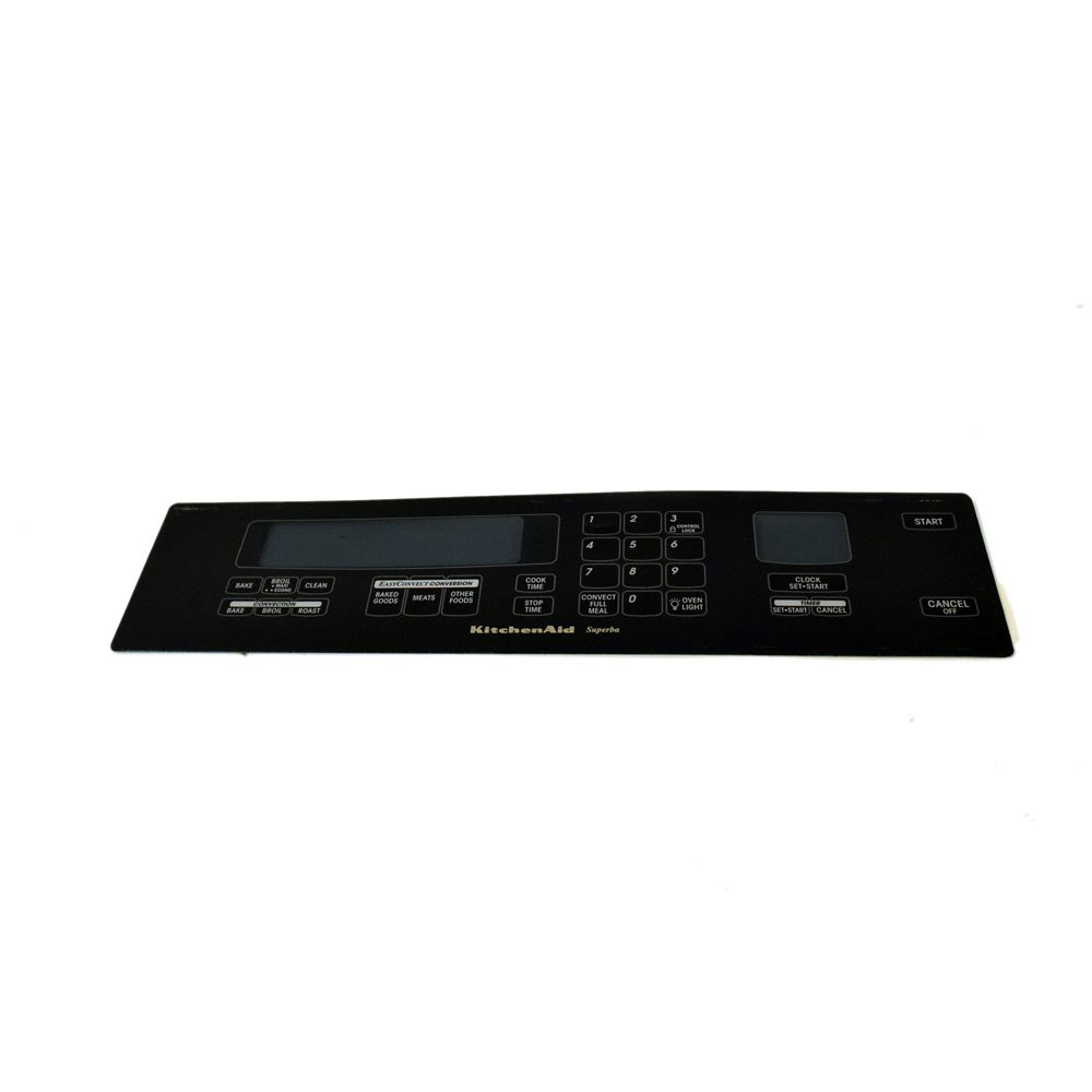 WHIRLPOOL CORP 8302648 Wall Oven Membrane Switch (Black)